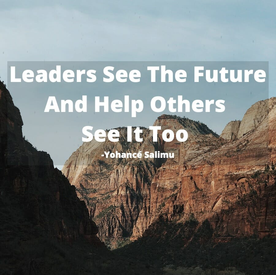 A Henry Ford quote about leadership in the mountains that Henry Ford loves