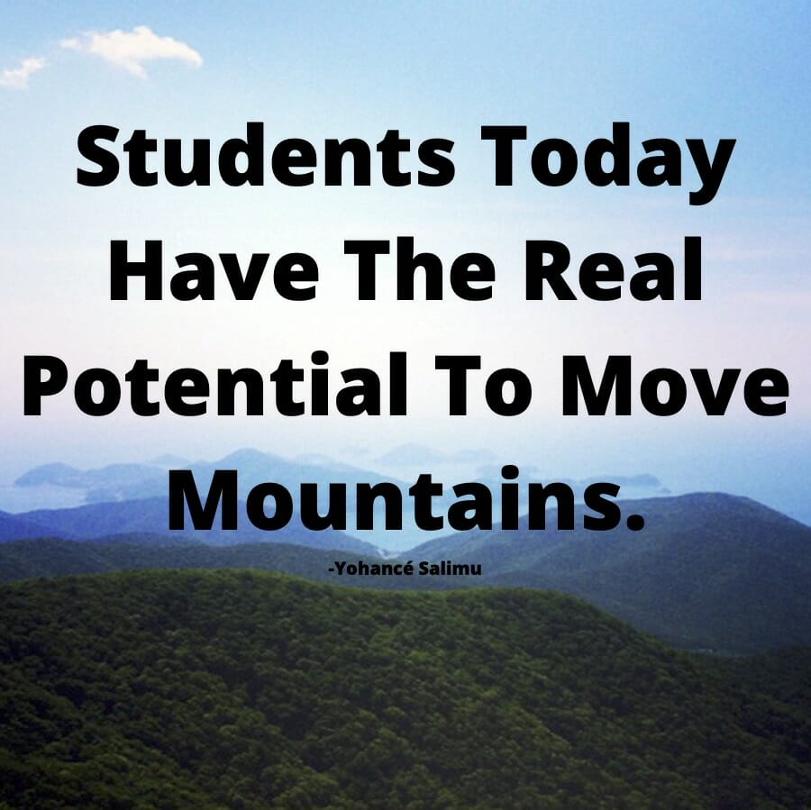 you can not only plan about life with mountain view