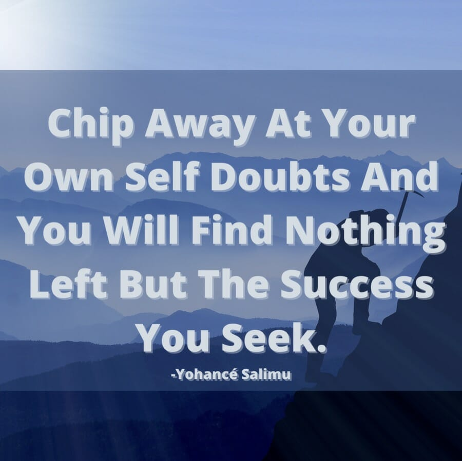 inspirational quotes self doubt