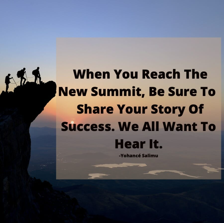 inspirational qoute and story